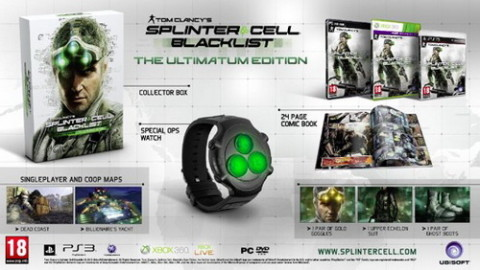 Збірка The Ultimatum Edition для Splinter Cell: Blacklist